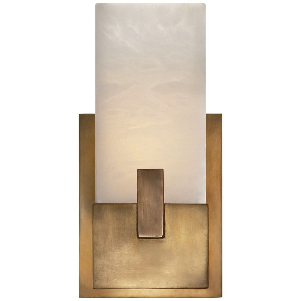 Kelly Wearstler Kelly Wearstler - Covet Short Clip Bath Sconce - Burnished Brass