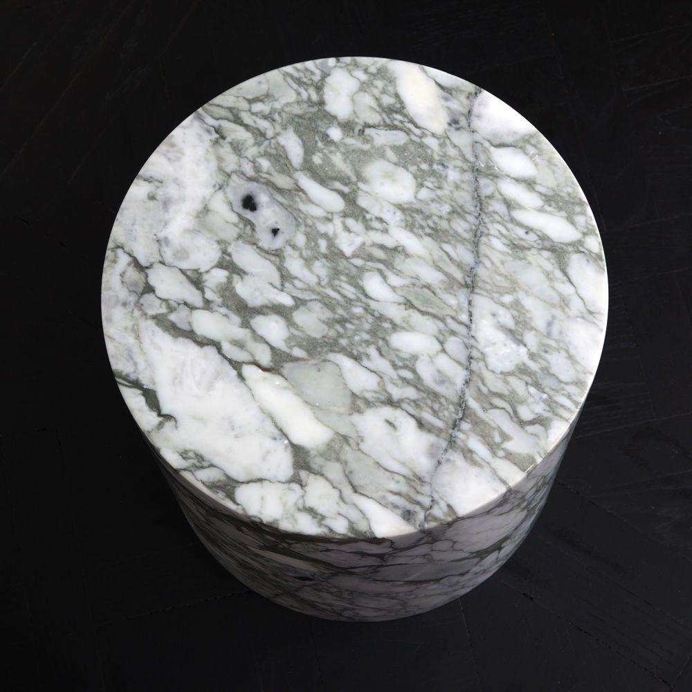 Kelly Wearstler Kelly Wearstler - Monolith Side Table - Big Flower Marble - 40.5x46cm