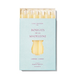 Cire Trudon Cire Trudon Madeleine Taper Candles - Boxed set of 6 - Stone - 20cm