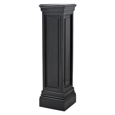 eichholtz overseas decoration b.v. Tall Plinth - Column - Waxed Black - H120x33x33cm