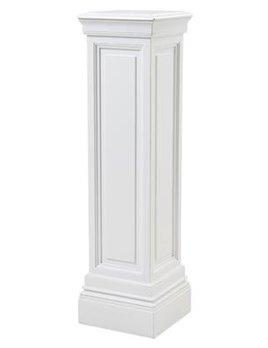 eichholtz overseas decoration b.v. Tall Plinth - Column - Waxed White - H120x33x33cm