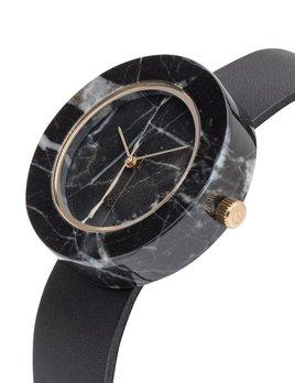 Analog Watch Co Analog Watch Co - Mason - Black Marble with Circular Body