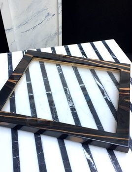 BECKER MINTY - Ebony - Glass Tray Lid (35x30x2cm) -  Fits all Becker Minty Modular Jewellery and Accessory Trays