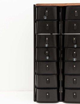 Sagitine Wardrobe Care - Shanghai Shoe Box Stand Set - 14 pairs - H93xW52xD34cm