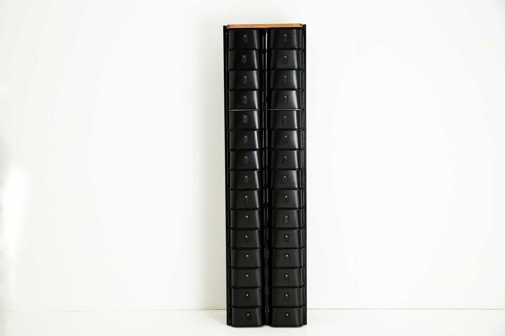 Sagitine Wardrobe Care - Sydney Shoe Box Stand Set - 30 pairs - H193xW52xD34cm