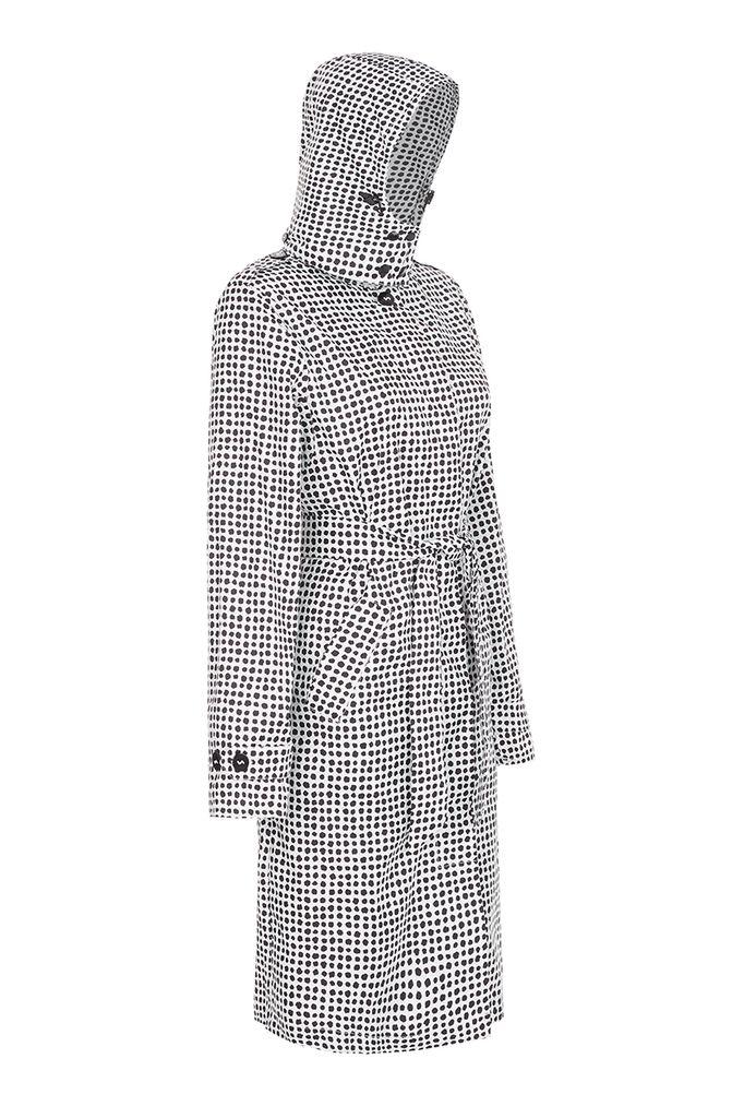 BECKER MINTY PAQME womens anywhere raincoat - Dalmation