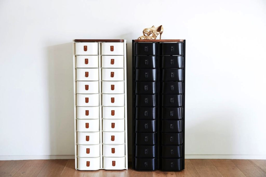 Sagitine Wardrobe Care - The New York - Medium Shoe Storage Stand  - 20 pairs - W52xH130xD34cm