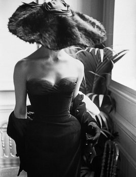 Mark Shaw Photography - Dior Gown & Hat