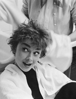 Mark Shaw Photography - Audrey Washing Hair