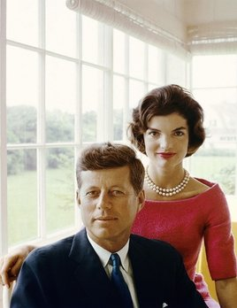 Mark Shaw Photography - Cover Reel Art Kennedy Book - A portrait of Jackie and JFK