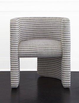 Kelly Wearstler Kelly Wearstler - Fairfax Chair - Swift Thunder
