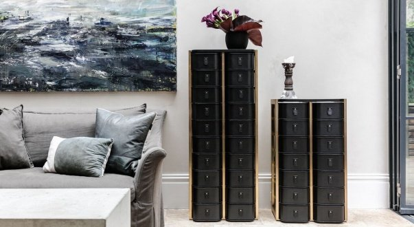 THE LUXE COLLECTION - SAGITINE WARDROBE STORAGE