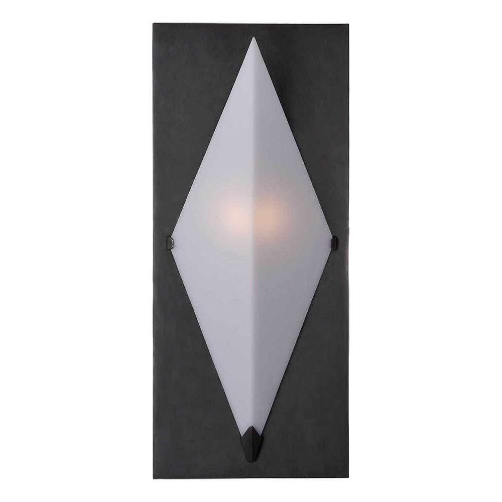 Kelly Wearstler Kelly Wearstler - Forma Sconce in Bronze with White Glass