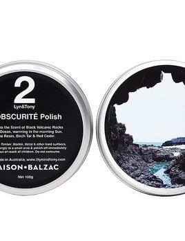 2 by lyn and tony L'OBSCURITE Scented Wax Polish by 2 by Lyn&Tony