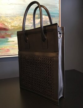 f40abd27ba Sagan Sagan Vienna Shopper Tote - Large - Absolute Black