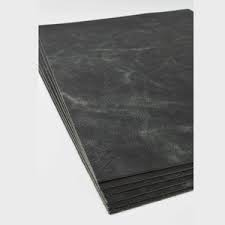Michael Verheyden Michael Verheyden - Placemat - Desk Blotter - Black leather - 70x50cm - Belgium