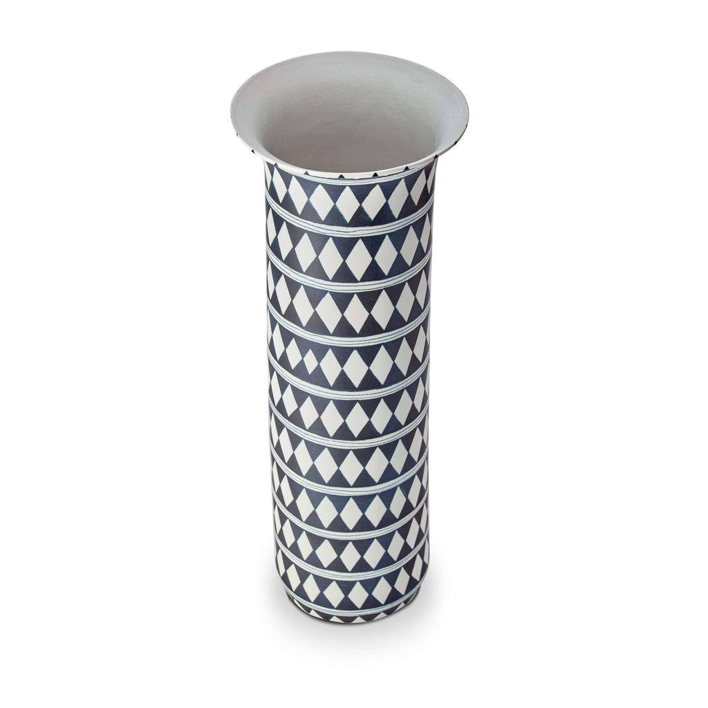 L'Objet L'Objet - Tribal Diamond Vase - Extra Large - 23 D x 64 H cm