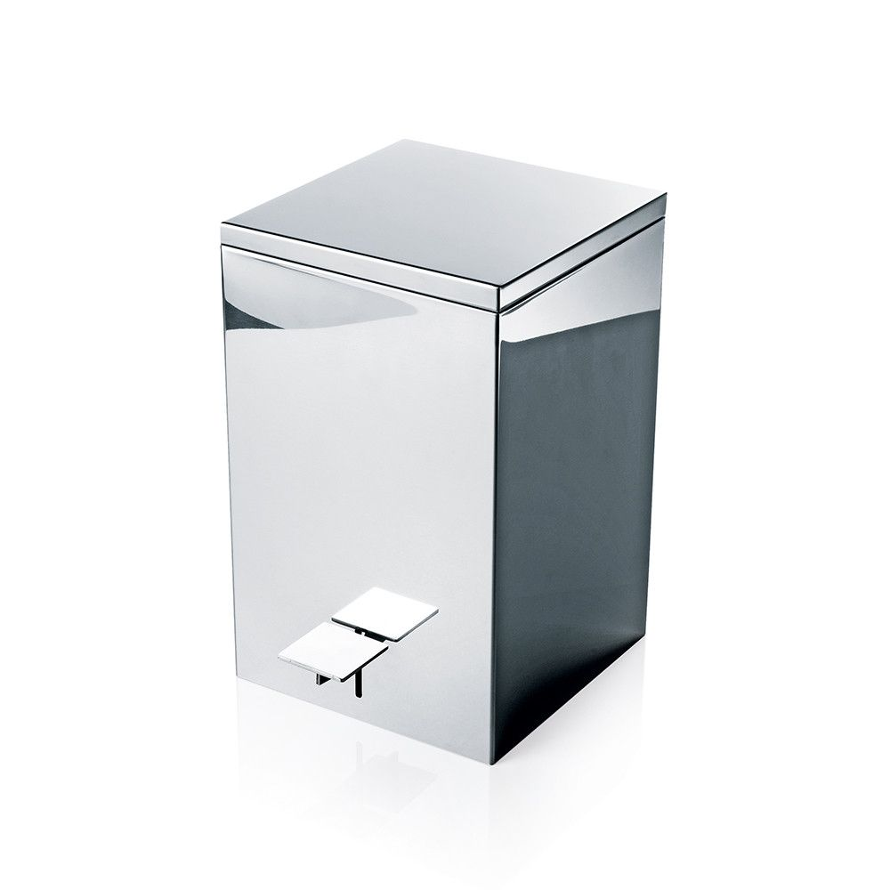 TE 70 Pedal Bin - Square - Waste Bin - 20x20xH32cm - Various Surface Finishes Available