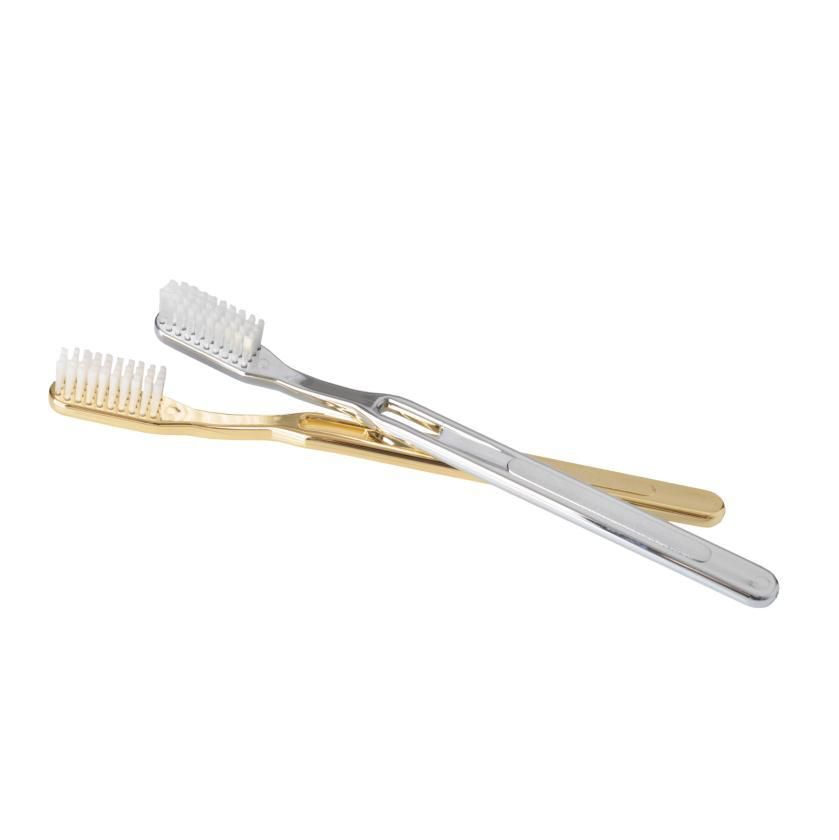 DW - Toothbrush - 18ct Gold Plated - Made in Germany