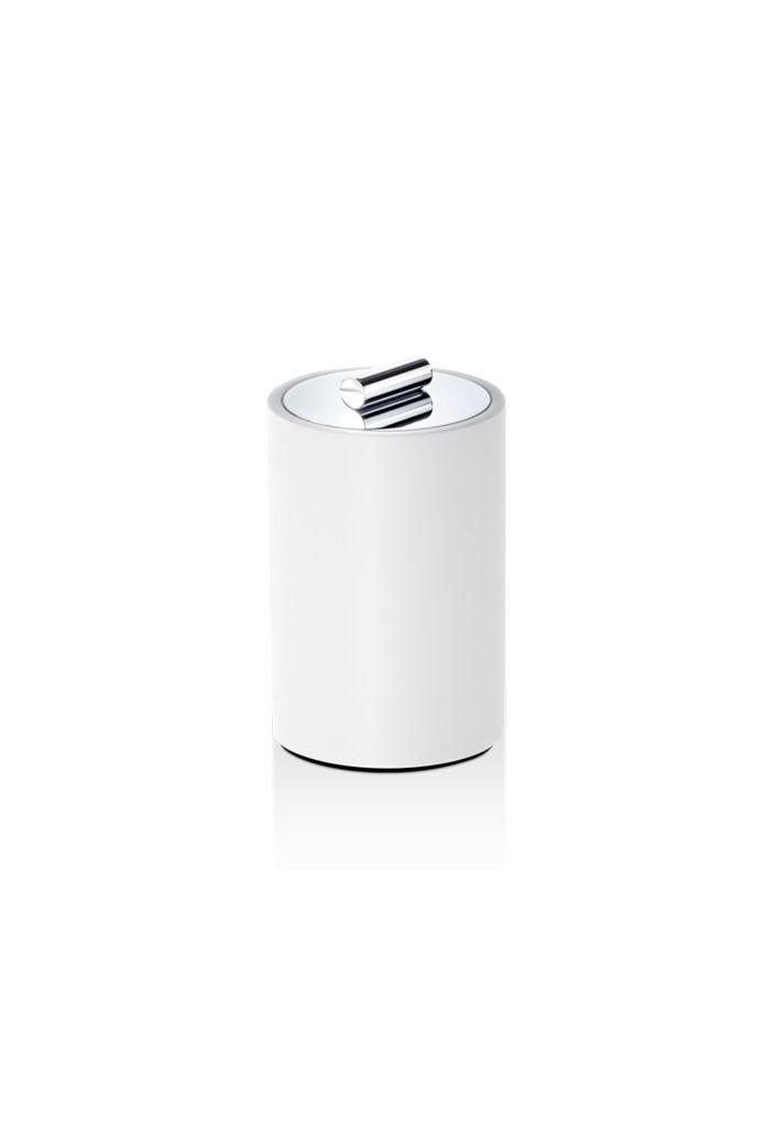 DW - Multi-Purpose Box Medium - Stone - White Chrome - H13cm - Germany