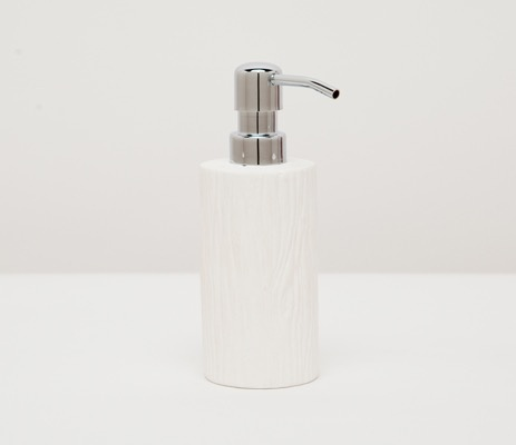 BURMA - Soap Pump - Porcelein Faux Bois