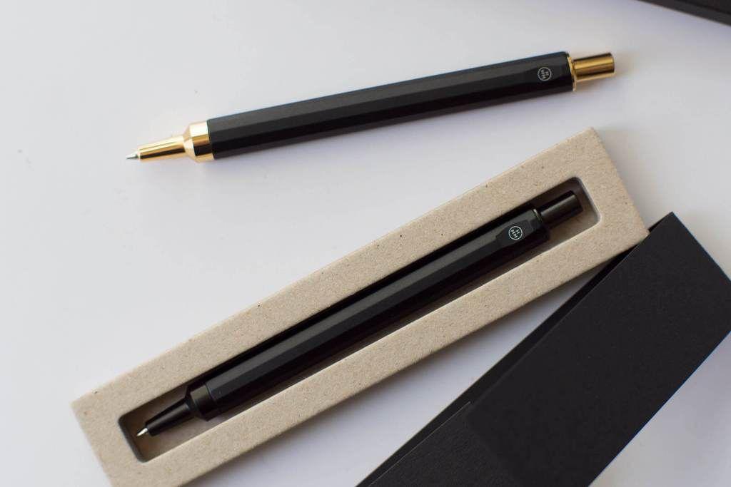 HMM HMM - Black Metal Pencil with Gold Nib