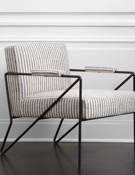 Kelly Wearstler Kelly Wearstler - Emmett Lounge Chair - Swift Thunder