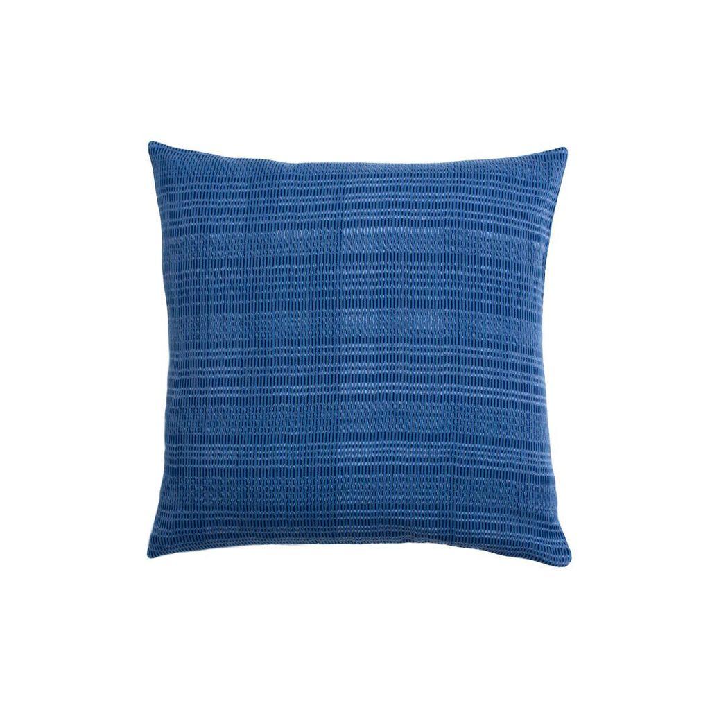 Aniza Aniza Cushion - Royal Blue and Cream - 40x40cm