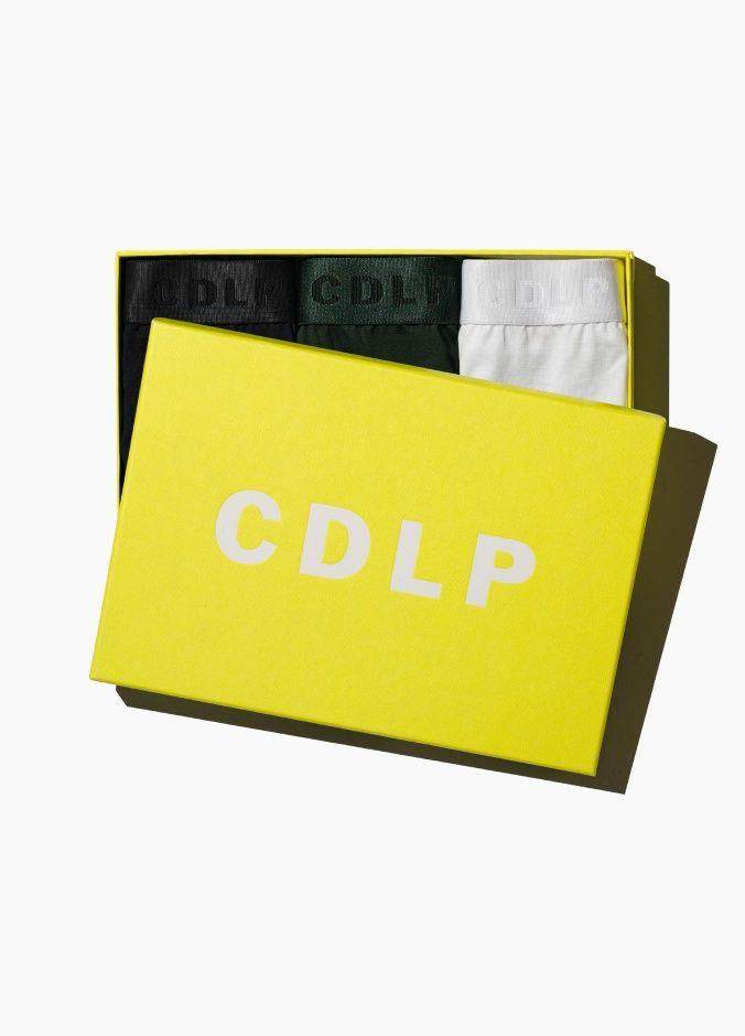 CDLP CDLP - 3 Pack Boxer Trunk - Mixed - Sweden - Black/White/Green