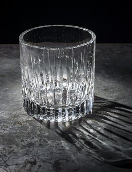 BECKER MINTY BECKER MINTY - Linear Cut Champagne Bucket - Clear Crystal Glass 19x19cm