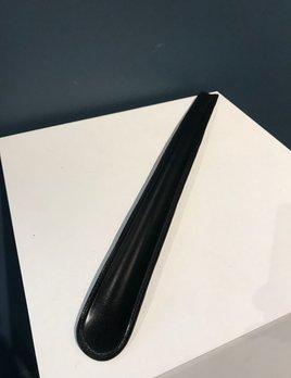 Luxury Calf Leather Shoehorn - Large - Black - Germany