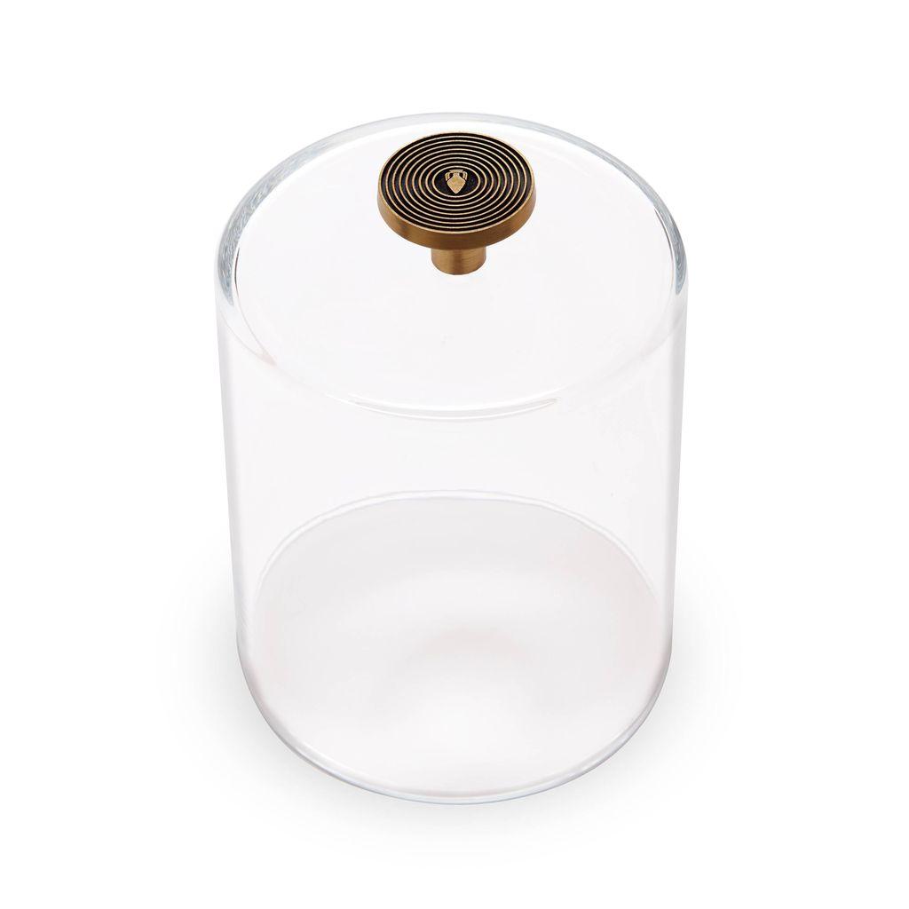 L'Objet L'Objet - Glass Cloche with Metal Knob