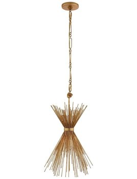 Kelly Wearstler Kelly Wearstler - Strada Small Pendant in Gild - Fixture Height: 60.4cm<br /> Width: 23.5cm<br /> Canopy: 11.5cm Round