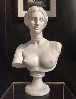 Mercer and Lewis Aphrodite Alabaster Bust - Mercer and Lewis approx H56cm - Greece