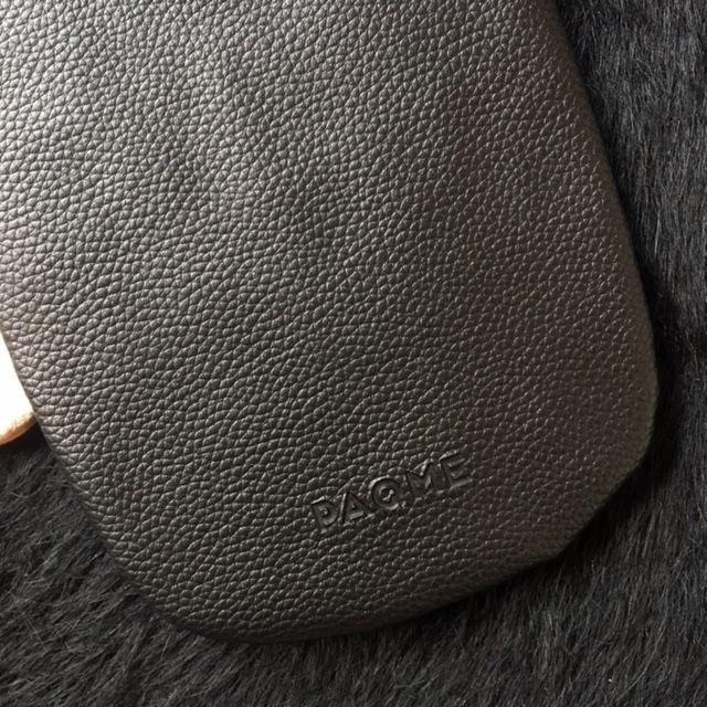 PAQME PAQME Sunglass Case - Leather - Blk