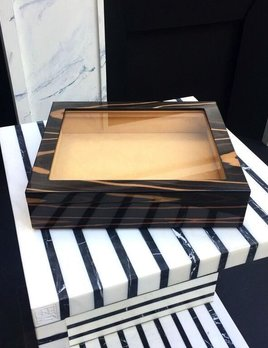 BECKER MINTY - Ebony - Catch All Tray - Modular Jewellery and Accessory Tray