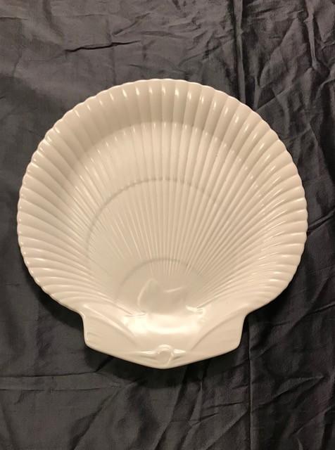 BECKER MINTY Vintage Wedgwood - Dessert Plate - Moonstone (matte cream finish) - 23cm - UK c.1970