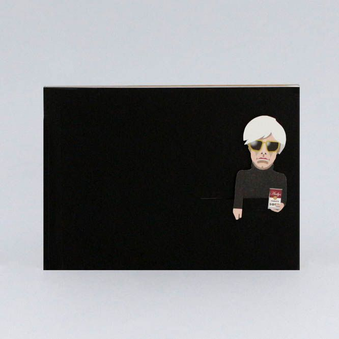 Noodoll Pocket Notebook Gold - Pop Artist