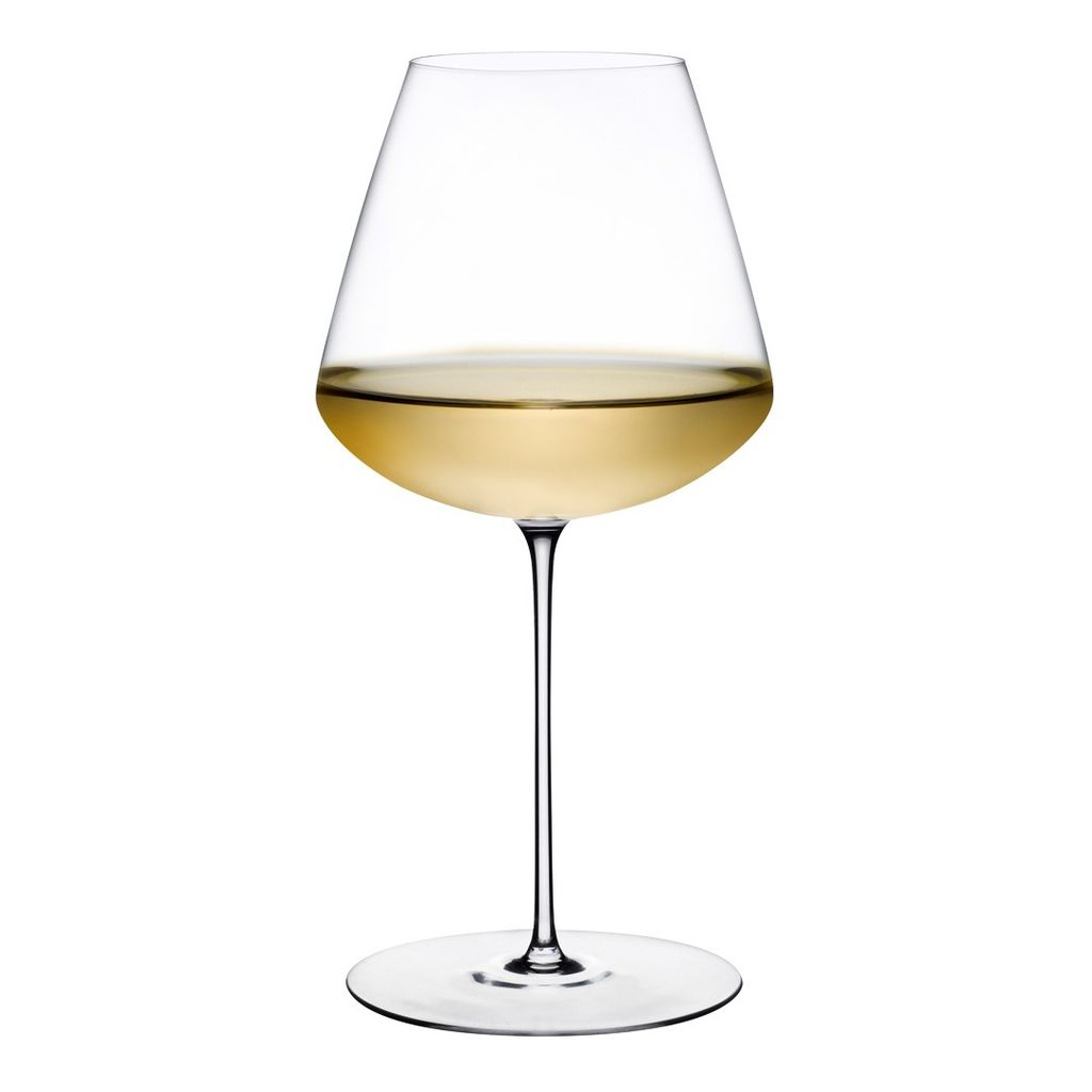 Nude Glass Elegant White Wine Glass - Set of 2