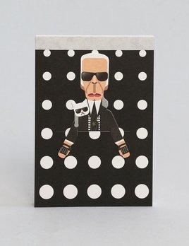 Noodoll Pocket Notebook - Fashion King
