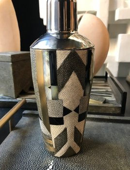 KIFU KIFU Paris - Cocktail Shaker in Shagreen and Black Shell