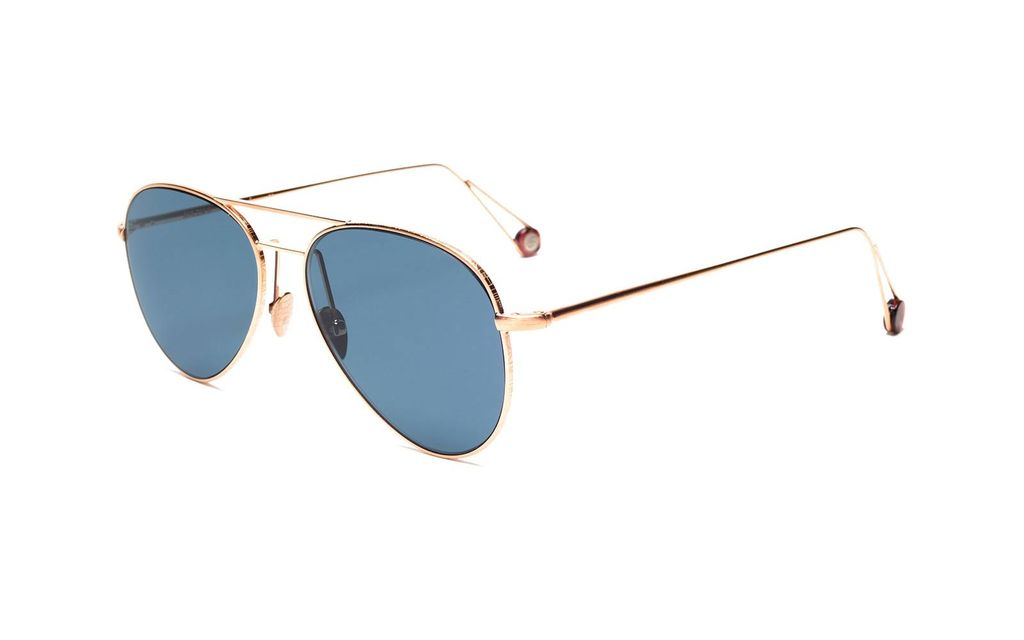 Proper Goods Ahlem Eyewear - Pantheon - Brush Rose Gold - Handmade in France