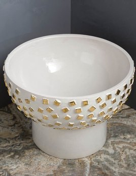 "Kelly Wearstler Kelly Wearstler - Confetti Bowl - 14"" D x 10"" H"