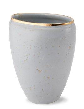 "AERIN - Paros Vase - Medium - Ceramic - Dimensions: 6.3""l x 5""w x 7.5""h - Made in Italy"