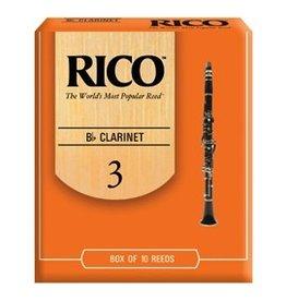 Rico Rico Clarinet 10pk #2.5 Reeds