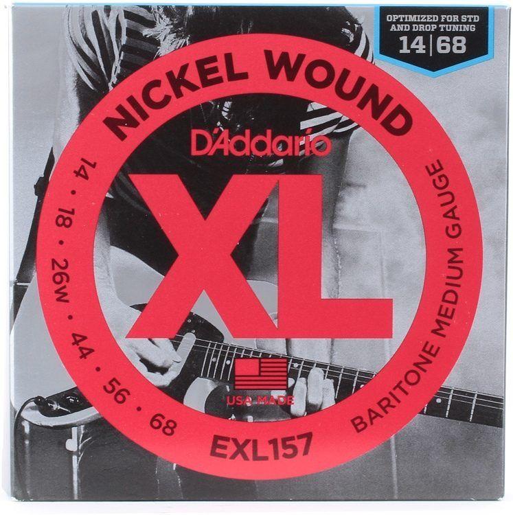 D'Addario D'Addario EXL157 Nickel Wound, Baritone Medium, 14-68