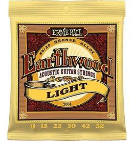 Ernie Ball Ernie Ball Earthwood Acoustic Guitar Strings Lt 11-52s