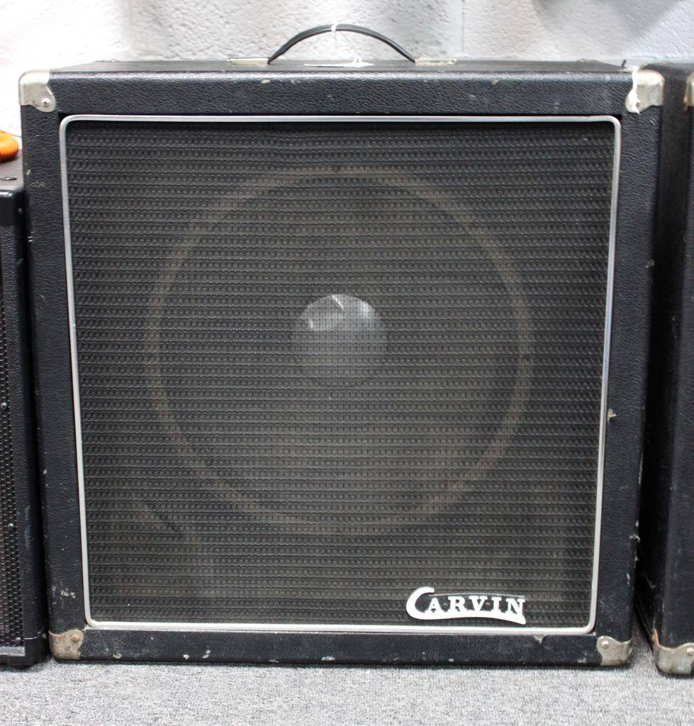 Carvin USED VIntage Carvin 1x15' w/ JBL Aluminum cap speaker
