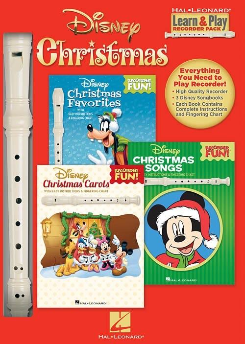 Hal Leonard Hal Leonard: Disney Christmas Learn & Play Recorder Pack