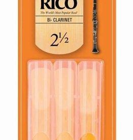 Rico Rico Clarinet 3pk #2.5 Reeds